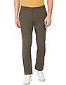 Cherokee Slim Fit Cotton Linen Trousers