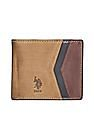 U.S. Polo Assn. Colour Blocked Bi-Fold Wallet