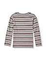 The Children's Place Boys Long Sleeve Striped Tee