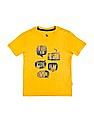 U.S. Polo Assn. Kids Boys Printed Front Slubbed T-Shirt