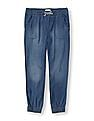 The Children's Place Girls Washed Jogger Jeans