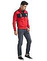 U.S. Polo Assn. Appliqued Zip Up Sweatshirt