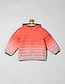GAP Baby Orange Hooded Padded Jacket