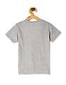 Cherokee Grey Boys Crew Neck Graphic T-Shirt