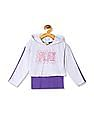 Cherokee Girls Colour Block Twofer Top