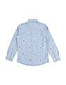 FM Boys Boys Slim Fit Printed Shirt