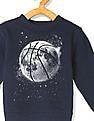 The Children's Place Toddler Boy Blue Basketball Graphic Sweatshirt