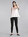 GAP Women White A-Line Tank