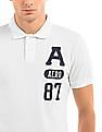 Aeropostale Slim Fit Pique Polo Shirt