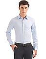 USPA Tailored Regular Fit Patterned Shirt
