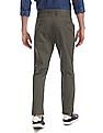 U.S. Polo Assn. Green Printed Denver Slim Fit Trousers