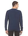 U.S. Polo Assn. Denim Co. Patterned Knit Washed Sweater