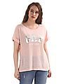 GAP Lightweight Metallic Logo Short Sleeve T-Shirt