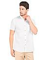 Cherokee Short Sleeve Cotton Linen Shirt