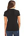 GAP Women Black Modern Crew Tee