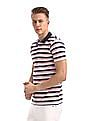 Roots by Ruggers Short Sleeves Striped Polo Shirt