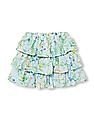 The Children's Place Girls Floral Print Ruffle Skort