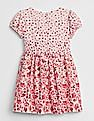 GAP Baby Floral Fit and Flare Dress