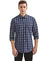 Arvind Slim Fit Check Shirt