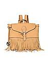 U.S. Polo Assn. Women Fringe Trim Backpack