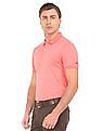 Arrow Sports Geometric Printed Polo Shirt