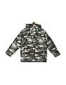 The Children's Place Boys Green Camo Print Three-In-One Jacket