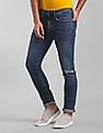 GAP Blue Skinny Fit Stone Wash Jeans